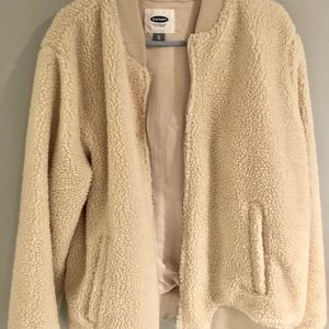 Old Navy Jackets & Coats - Old Navy Sherpa Bomber Jacket-(fits any size)